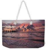 Sunrise Panoramic Weekender Tote Bag by Adam Romanowicz