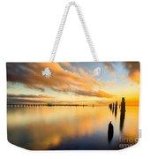 Sunrise Reflections Weekender Tote Bag