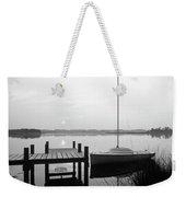 Sunrise Sail Boat Weekender Tote Bag