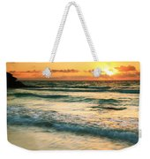 Sunrise Seascape Tulum Mexico Weekender Tote Bag