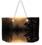 Sunrise-sundown Weekender Tote Bag
