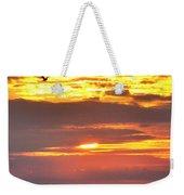 Sunrise Through The Grass Weekender Tote Bag