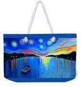 Sunrise At The Lake - Van Gogh Style Weekender Tote Bag