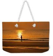 Sunrise Walk Weekender Tote Bag