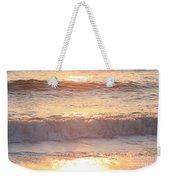 Sunrise Waves Weekender Tote Bag