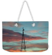 Sunrise Windmill Weekender Tote Bag