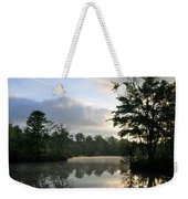 Sunrise With A Jet Trail Weekender Tote Bag