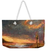 Sunrise With Birds  Weekender Tote Bag