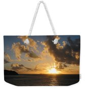 Sunrise With Clouds St. Martin Weekender Tote Bag