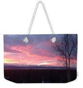 Sunrise With Tree Weekender Tote Bag