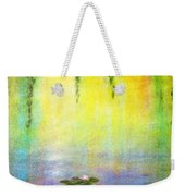 Sunrise With Water Lilies Weekender Tote Bag