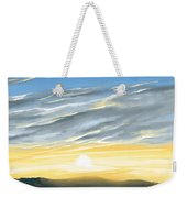 Sunset Above The Hill Weekender Tote Bag