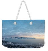 Sunset Above The Smog  Weekender Tote Bag
