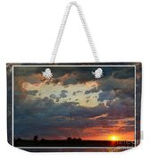 Sunset After A Thunderstorm Photoart Weekender Tote Bag