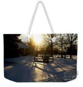 Sunset After The Snow Storm Weekender Tote Bag