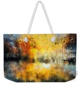 Sunset After The Storm Abstract Weekender Tote Bag