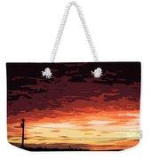 Sunset Alternative Weekender Tote Bag