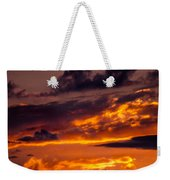 Sunset And Storm Clouds Weekender Tote Bag