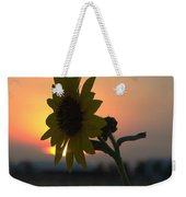 Sunset And Sunflower Weekender Tote Bag