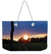 Sunset And The Dead Tree Weekender Tote Bag