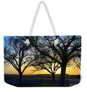 Sunset And Trees Weekender Tote Bag