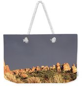 Sunset  Arches National Park Weekender Tote Bag