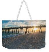 Sunset Art Weekender Tote Bag