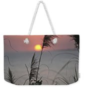 Sunset At 188 Mm Focal Length Weekender Tote Bag