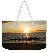 Sunset At Anaeho'omalu Bay Weekender Tote Bag