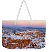 Sunset At Bryce Canyon National Park Utah Weekender Tote Bag