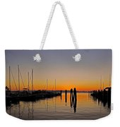 Sunset At Burlington Bay - Vermont Weekender Tote Bag