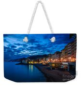 Sunset At Camogli In Liguria - Italy Weekender Tote Bag