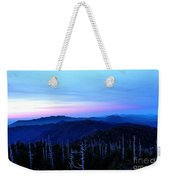 Sunset At Clingman's Dome Weekender Tote Bag