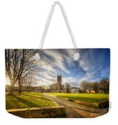 Sunset At Derby Cathedral Park Weekender Tote Bag