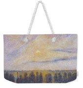 Sunset At Eragny, 1890 Weekender Tote Bag