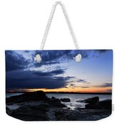 Sunset At Fort Getty Weekender Tote Bag