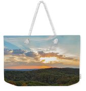 Sunset At Garden Of The Gods Weekender Tote Bag