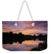 Sunset At Japanese Garden Weekender Tote Bag