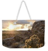 Sunset At Joshua Tree National Park Weekender Tote Bag