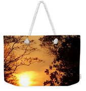 Sunset At Jungle Weekender Tote Bag