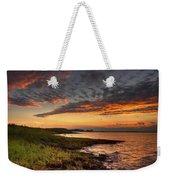 Sunset At Kent Narrows Weekender Tote Bag