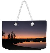 Sunset At Lake Tahoe Weekender Tote Bag