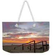 Sunset At Las Glorias Over Sea Of Cortez-sinaloa Weekender Tote Bag