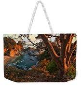 Sunset At Mcway Falls Weekender Tote Bag