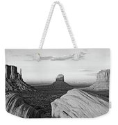 Sunset At Monument Valley, Monument Weekender Tote Bag