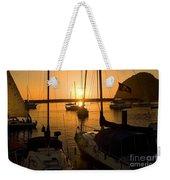 Sunset At Morro Bay Weekender Tote Bag