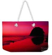 Sunset At Neskowin Beach- Proposal Rock Weekender Tote Bag