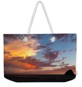 Sunset At Pacific City Weekender Tote Bag