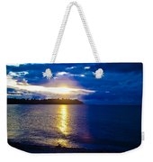 Sunset At Parksville Beach Weekender Tote Bag
