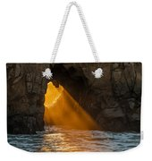 Sunset At Pfeiffer Beach Weekender Tote Bag